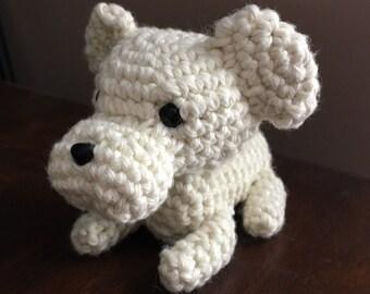 Crochet Labrador Puppy - Plush Toy Dog- Gift for dog lover- Stuffed Animal