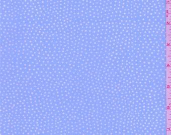 Powder Blue Dot Sheeting, Fabric By The Yard