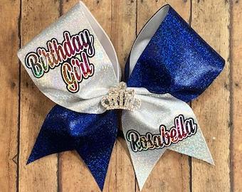 Birthday cheer bow
