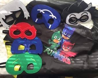 PJ Mask Felt Mask & Cape Set