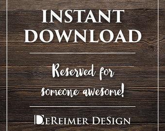 Instant Download for Brittney