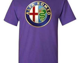 Alfa Romeo Purple T-Shirt