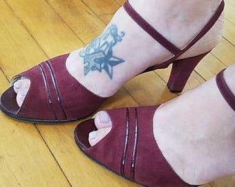 Miramonte Vintage Italian leather heels