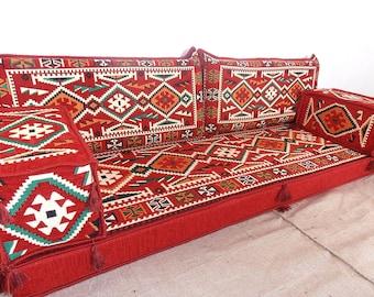 Arabic Style Majlis Floor Sofa Set, Floor Couch, Oriental Floor Seating,  Floor Seating