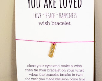 You Are Loved Wish Bracelet