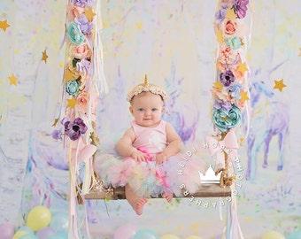 Baby Girl 1st Birthday Outfit | Baby Tutu | Tutu Dress | Birthday Dress | Baby Girls Cake Smash Outfits | Unicorn Birthday Tutu