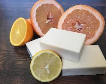Citrus Grove Handmade Soap // Citrus & Honey Handmade Soap //  Citrus Beeswax Handmade Soap // Organic Citrus Soap // All Natural Soap