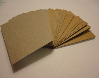 Artist Trading Cards - Chipboard / Heavy Card