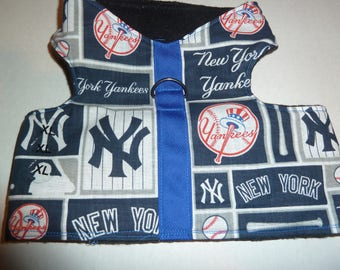 3XL NY Yankees Comfort Pet Harness  - 3 Extra Large Yankees MLB Vest, Yankees Baseball Harness