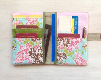 A5 passport holders with 10 pockets