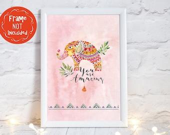 elephant gifts, elephant nursery art, elephant prints, elephant gifts, elephant wall art, elephant art print, elephant nursery decor,