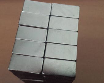 Magnet rectangle magnet N50 20x10mm 20mm powerful neodymium