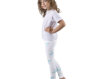 Save The Narwhals Leggings