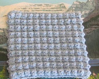 Cbsdc 002 Hand Crochet Bobble Stitch Cotton Dish Cloth