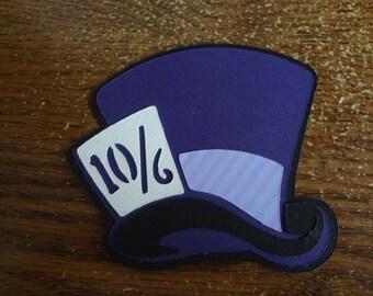 Scrapbooking ~ Alice in Wonderland: Mad Hatter Hat