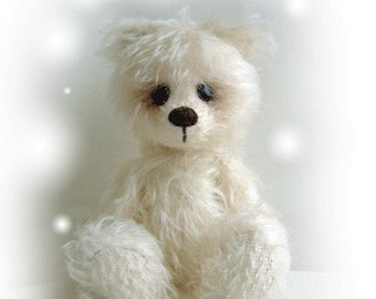 FLOWER artist teddy bear e-pattern by Jenny Lee of jennylovesbenny artist bears