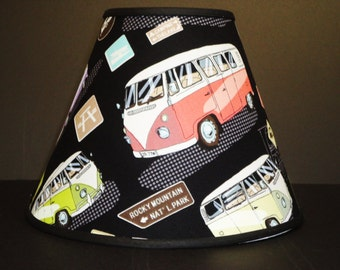 Vintage Retro Vans Lamp Shade