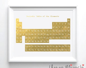 Periodic table | Etsy