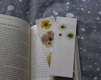 Pressed Flower Bookmark