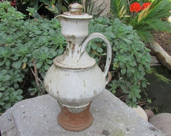 Mid Century Modern Studio Pottery Ceramic Pitcher