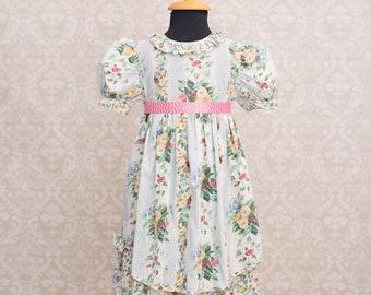 Bryan Girls Floral Dress