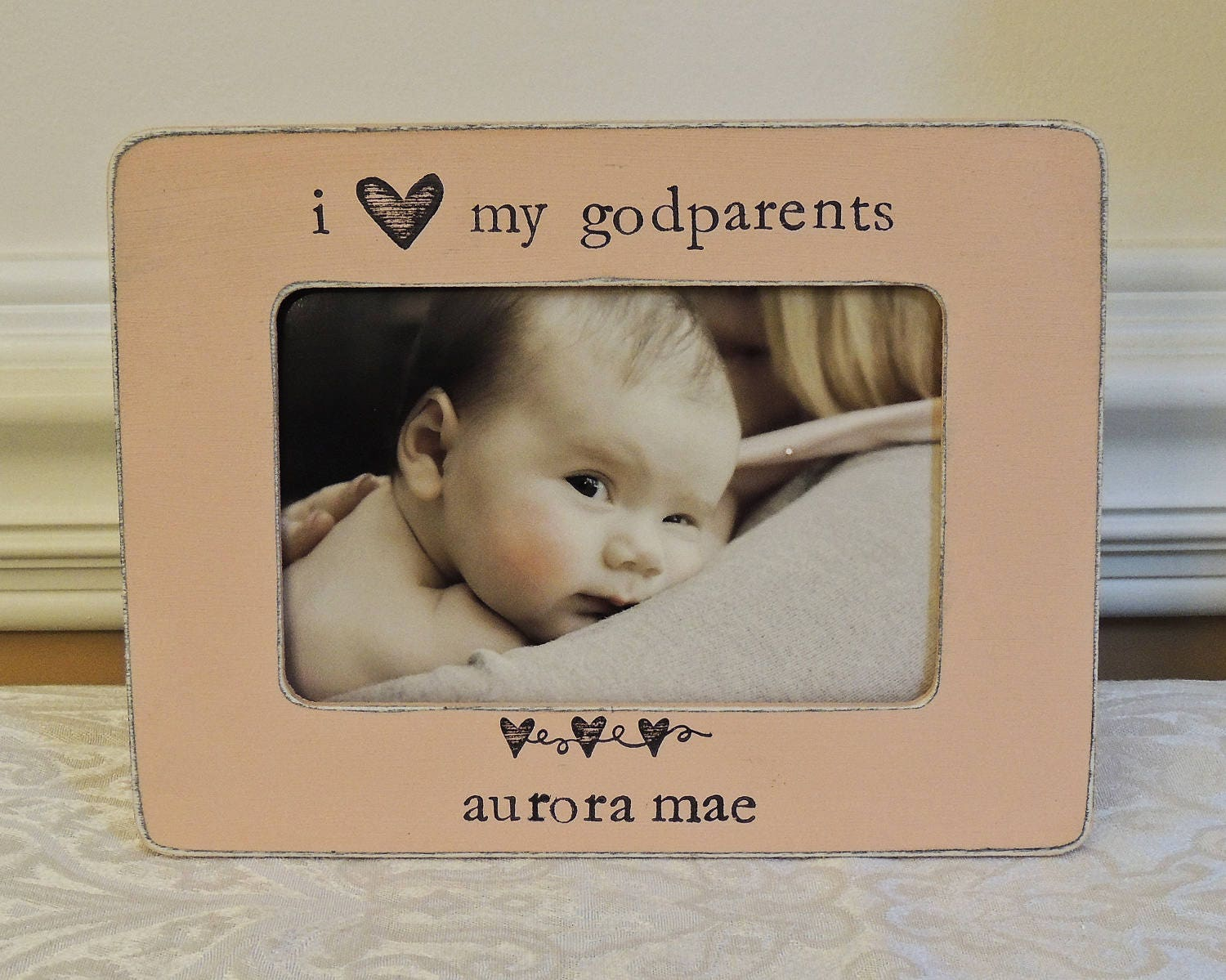 Personalized godparents gift godmother godfather picture frame sold by forpreciousmemories jeuxipadfo Image collections