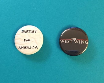 West Wing Pinback Buttons