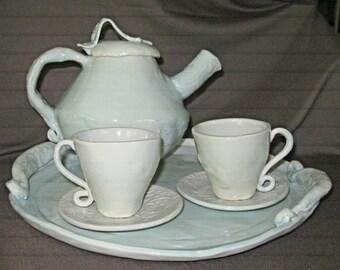 Celadon Tea Set