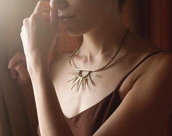 Tristana bib necklace
