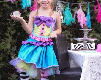 Mad Hatter Costume, Alice in Wonderland, Clowns, Birthday