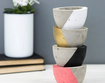 Concrete Planter – Gift For Him – Housewarming Gift – Concrete Pot – Plant Pot –Indoor Planter – Gift For Her – Wedding Gift – Father's Gift