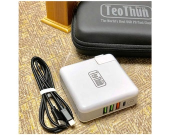 TeoThun Pro - The World's Best USB Power Delivery Charger 69w 4xPorts