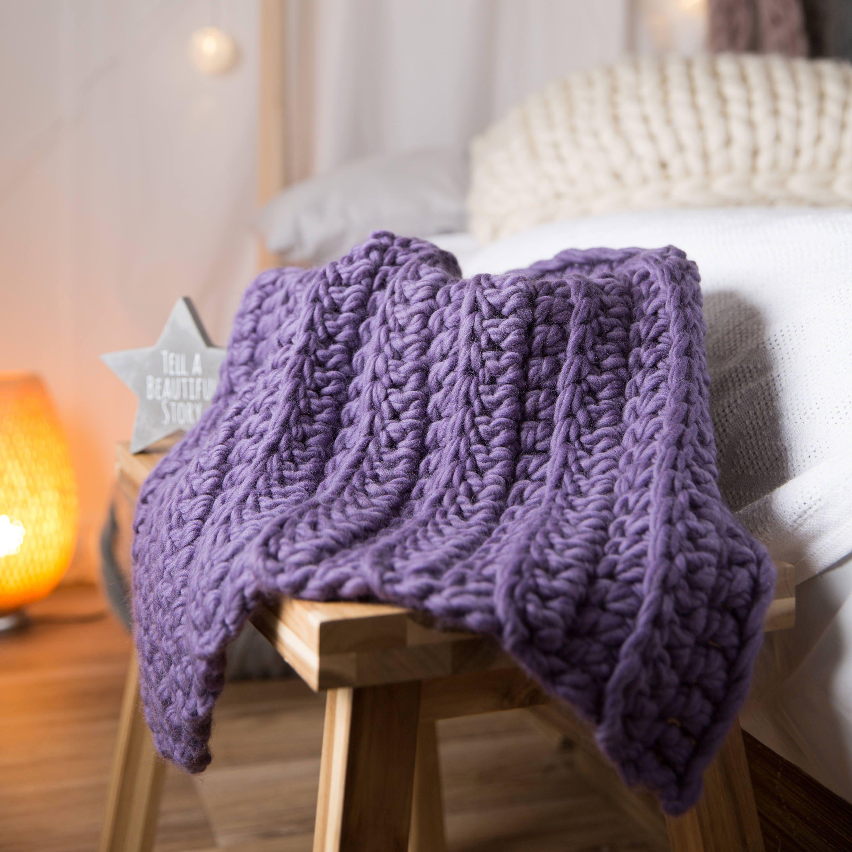 Anfänger Häkeln Set Baby-Decke. DIY häkeln Kit lernen zu