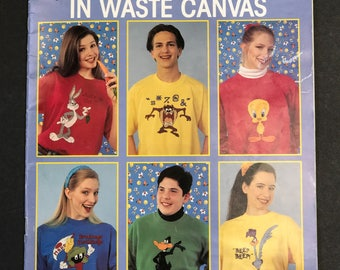 Looney toons in waste canvase pattern book