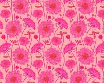 Quilteuses de Lacey Bubblegum-Sweet Dreams - Anna Maria Horner - 100 % coton Popeline fine PWAH122