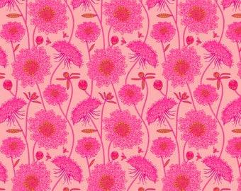 Lacey Bubblegum- Sweet Dreams - Anna Maria Horner - 100% Quilters Cotton Poplin PWAH122