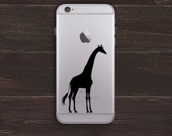Giraffe Vinyl iPhone Decal BAS-0296
