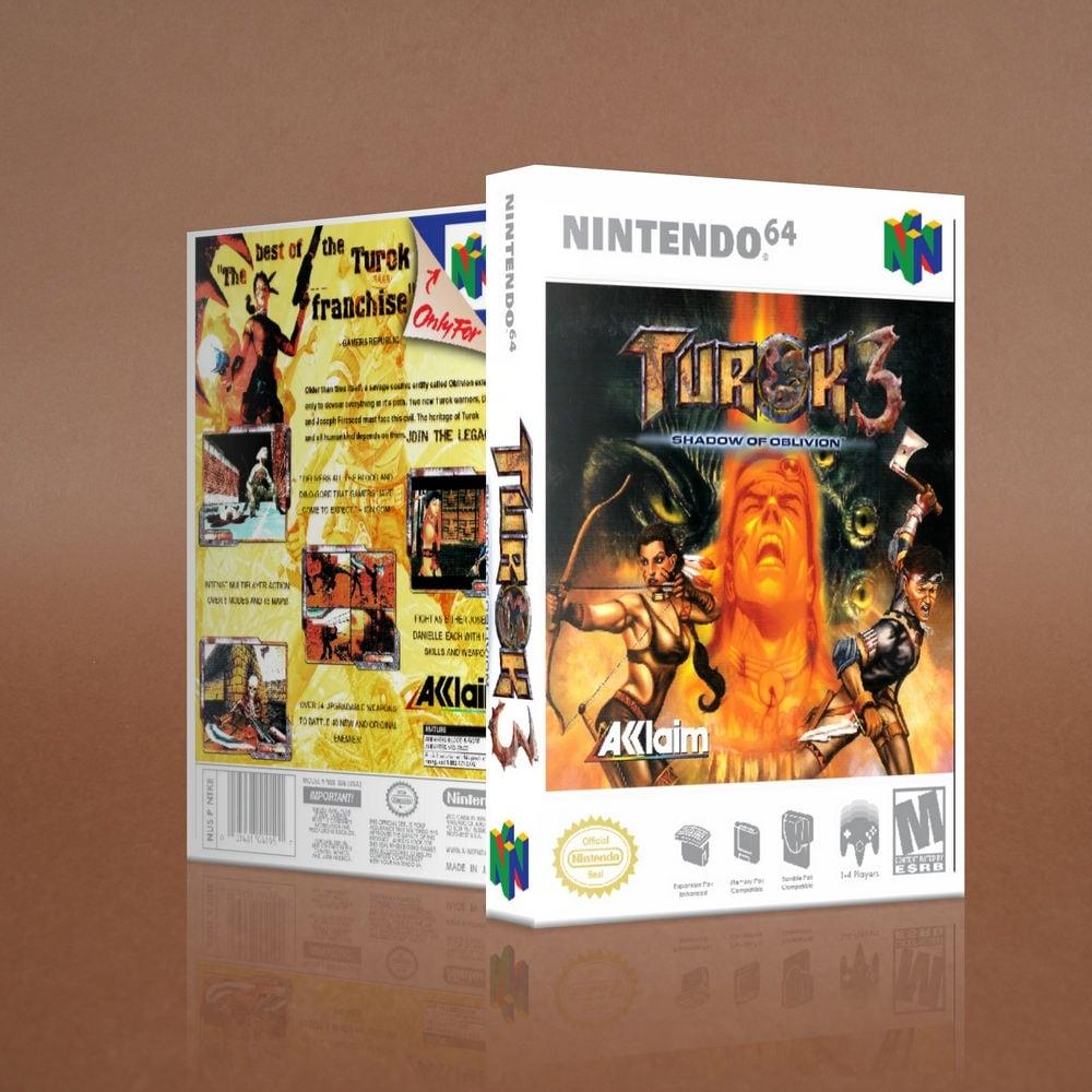 Turok 3 Custom Game Case N64 Nintendo 64