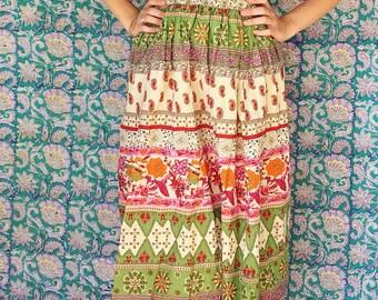 Vintage Strapless Midi Dress