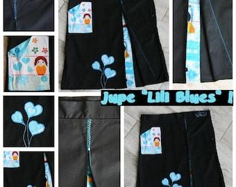 "Skirt ""Lili Blues"""