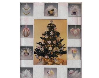 "1980's Butterick 4075 10 Christmas Ornaments || Size 5""/ 13cm || Vintage Sewing Pattern UNCUT"