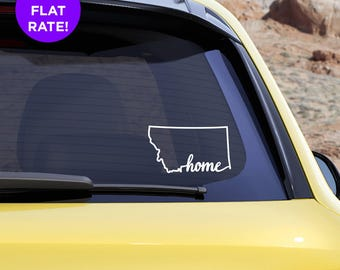 Montana Decal Etsy