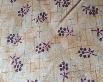 Nursing Cover purple flowers on tan Other Styles Available Check My Shop