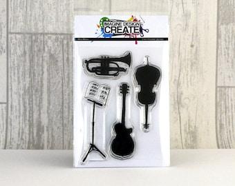 Mini Music A7 stamp set