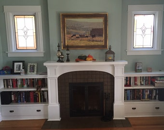 Fireplace Surrounds custom buit for Denver and the Rocky Mountains