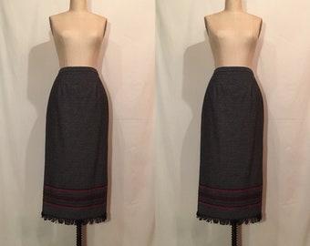 Vintage Sheath Skirt