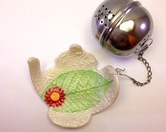 Support pour boule à thé fait à la main