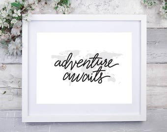 NEW! Adventure Awaits 10x8