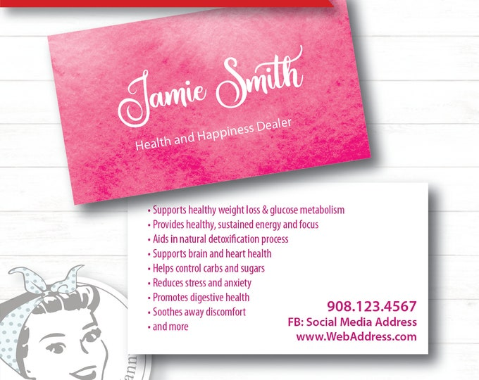 Business Card - Papyrus, plexus Business Card, New slim, Pink Drink, Pink Drink Update, plexus Swag