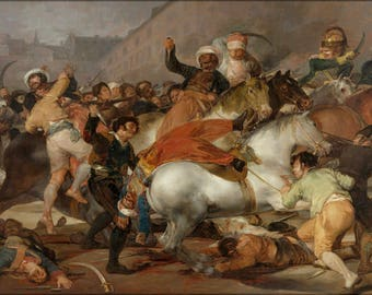 Poster, Many Sizes Available; Charge Of The Mamelukes By Francisco De Goya